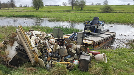 Waterborne Debris / Litter Removal